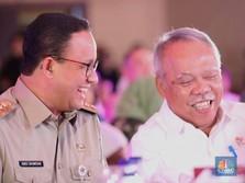 Pak Anies, Menteri PU Tanya, Lahan di Ciliwung Sudah Beres?