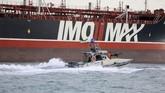 Sejumlah negara Eropa yang merupakan sekutu Inggris sudah meminta Iran melepaskan tanker Steno Impero. Namun, Iran mengabaikan imbauan itu. (Morteza Akhoondi/Mehr News Agency via AP)