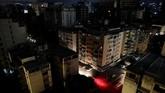 Caracas, Venezuela kembali gelap guilta akibat pemadaman besar-besaran, Senin 22 Juli 2019. (REUTERS/Manaure Quintero)