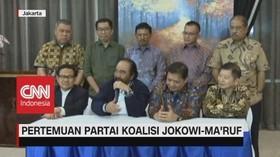 VIDEO: Pertemuan Partai Koalisi Jokowi-Ma'ruf