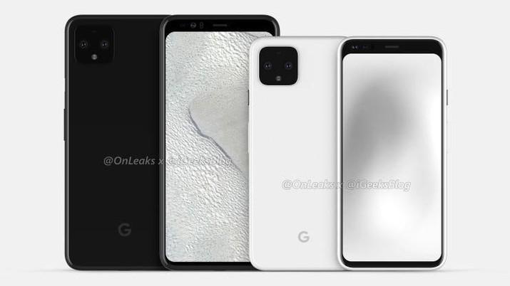 Bocor! Beginikah Penampakan HP Google Pixel 4?
