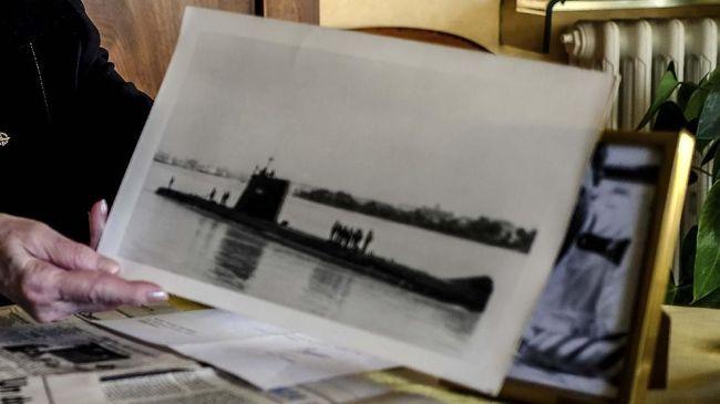 Bangkai Kapal Selam Inggris Berumur 77 Tahun Ditemukan