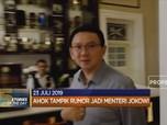 Ahok Tampik Rumor Jadi Menteri Jokowi