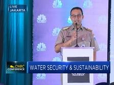 Anies Sedih Air Bersih di DKI Mahal Hingga Rp 600 Ribu/Bulan