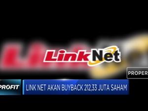 Link Net akan Buyback 212,33 Juta Saham