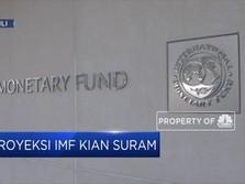 IMF Pangkas Proyeksi Pertumbuhan Ekonomi Global