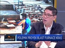 Eksklusif! Komisaris KRAS Buka-bukaan Proyek Blast Furnace