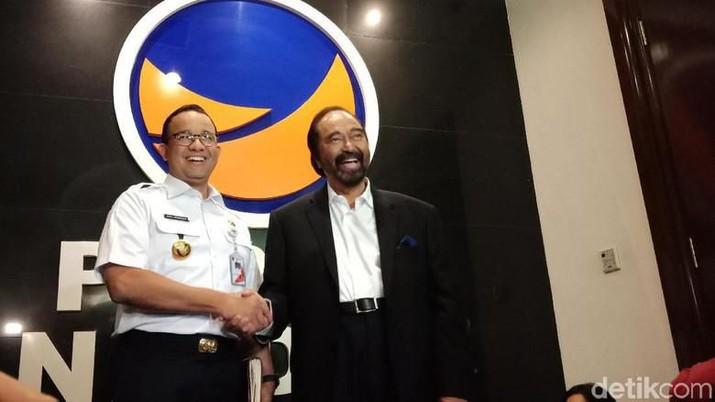 Anies Baswedan saat ini masih menjabat sebagai gubernur DKI Jakarta.