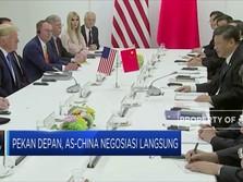 Babak Baru Perang Dagang, AS-China Segera Bertemu Pekan Depan