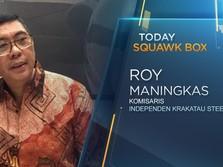 LIVE! Komisaris Krakatau Steel Buka-bukaan Kondisi Perusahaan