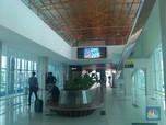 KA Bandara Sepi Peminat, Pedagang di Stasiun Pilih Tutup