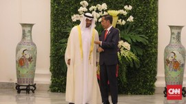 Jokowi Ungkap Alasan Ajak Pangeran MBZ di Ibu Kota Baru