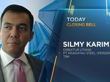 LIVE! Komisaris Resign, Begini Respons Bos Krakatau Steel