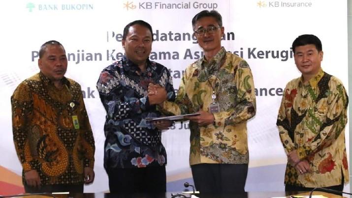 Perkuat Bancassurance, Bukopin Kerja Sama dengan KB Insurance