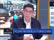 Komisaris KRAS Buka Suara Soal Proyek Blast Furnace