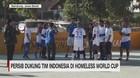 VIDEO: Persib Dukung Tim Indonesia di Homeless World Cup