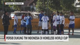 VIDEO: Persib Dukung Tim Indonesia di Homeless World Cup