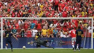 Arsenal Unggul 2-0 Atas Real Madrid di Babak Pertama