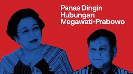 INFOGRAFIS: Panas Dingin Hubungan Megawati-Prabowo