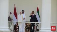Jokowi Ajak Putra Mahkota Abu Dhabi Tanam Damar di Bogor