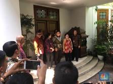 Kompak Berbatik, Ini Detik-detik Pertemuan Megawati-Prabowo