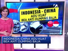 Indonesia-China Adu Kuat Bea Antidumping Baja