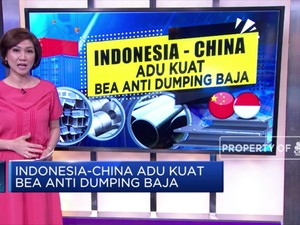 Indonesia-China Adu Kuat Bea Antidumping Baja