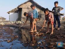Tumpahan Minyak Pertamina di Karawang Capai 3000 Barel Sehari