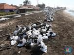 Tumpahan Minyak Pertamina Capai 39 Ribu Barel & 5 Juta Karung