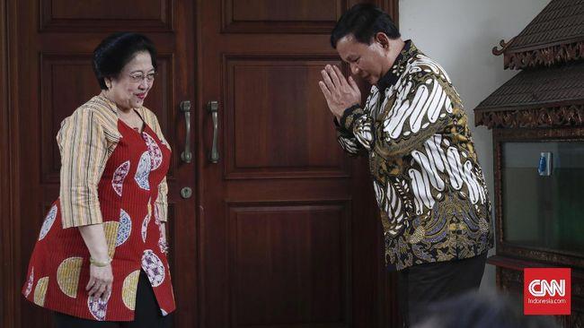 Pertemuan Mega-Prabowo dan Madu Manis Kursi Ketua MPR