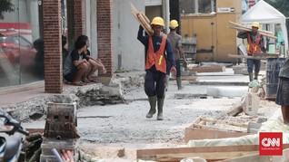 Pemprov DKI Ungkap Jalan Terkena Pelebaran Trotoar Jilid II