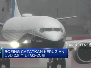 Boeing Rugi Besar di Q2-2019