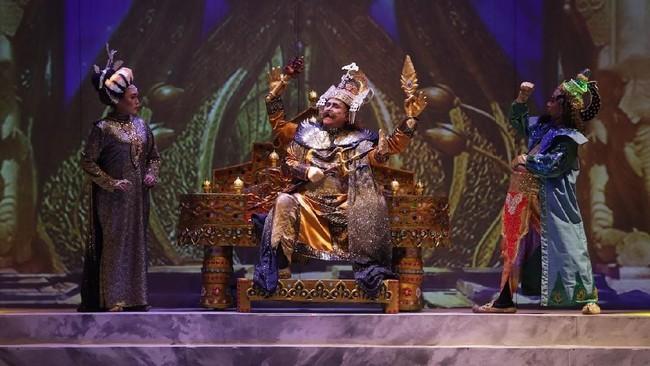 Teater Koma menggelar pementasan terbarunya dengan judul Goro-Goro Mahabarata 2di Graha Bhakti Budaya, Taman Ismail Marzuki mulai 25 Juli hingga 4 Agustus 2019. (dok: Bakti Budaya Djarum Foundation)