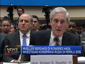 Trump Cela Laporan Investigasi Mueller di Kongres