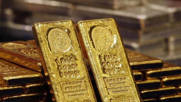 Harga emas dunia menguat di perdagangan pertama tahun 2020, Kamis kemarin (2/1/2020) setelah bersinar terang di tahun 2019.