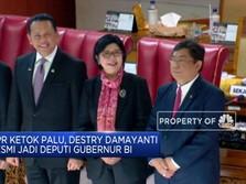 DPR Ketok Palu, Destry Damayanti Resmi Jadi DGS BI