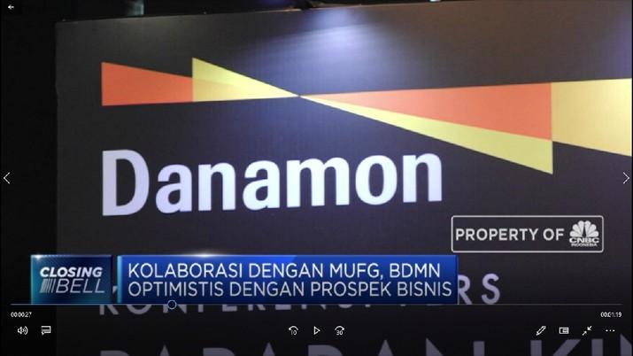 Pasca dimerger dengan PT Bank Nusantara Parahyangan Tbk (BBNP), laba PT Bank Danamon Indonesia Tbk (BDMN) hanya naik tipis sepanjang 2019.