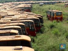 TransJakarta Bantah Terlibat di 'Kuburan' Bus, Apa Buktinya?