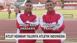 VIDEO: Atlet Kembar Talenta Atletik Indonesia