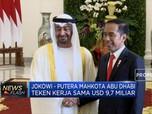Kala Jokowi dan Pangeran Abu Dhabi Bicara Bisnis