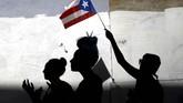 Gubernur Puerto Rico Ricardo Rossello mengumumkan pengunduran dirinya pada Rabu (24/7) malam waktu setempat. (REUTERS/Marco Bello)