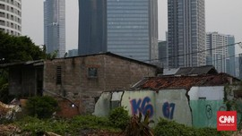 FOTO: Di Balik Hutan Beton Kota Jakarta