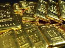 China Melawan! Harga Emas Melambung & Tembus Rekor Baru