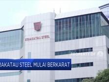 Krakatau Steel Mulai Berkarat