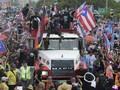 FOTO : Gelombang Demo Buat Gubernur Puerto Rico Mundur