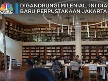 Digandrungi Milenial, Ini Dia Wajah Baru Perpustakaan Jakarta