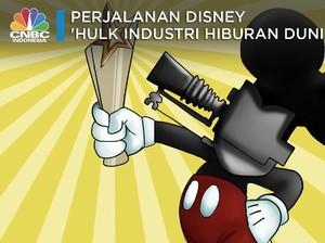 Perjalanan Disney 'Hulk di Industri Hiburan Dunia'
