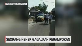 VIDEO: Seorang Nenek Gagalkan Perampokan