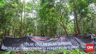 Tolak Jalur Batu Bara, LSM Sebut Puluhan Spesies Terancam