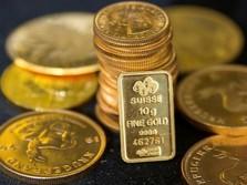 Harga Emas Antam & Dunia Kompak Anjlok, Berlanjut Hari Ini?